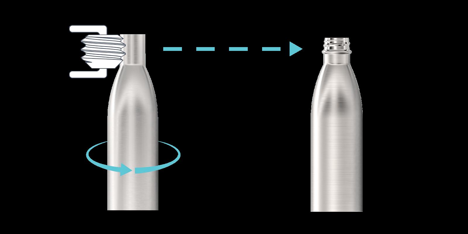 Come realizziamo le nostre Borracce in metallo - Step3