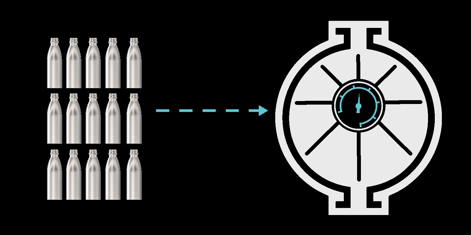 Come realizziamo le nostre Borracce in metallo - Step5