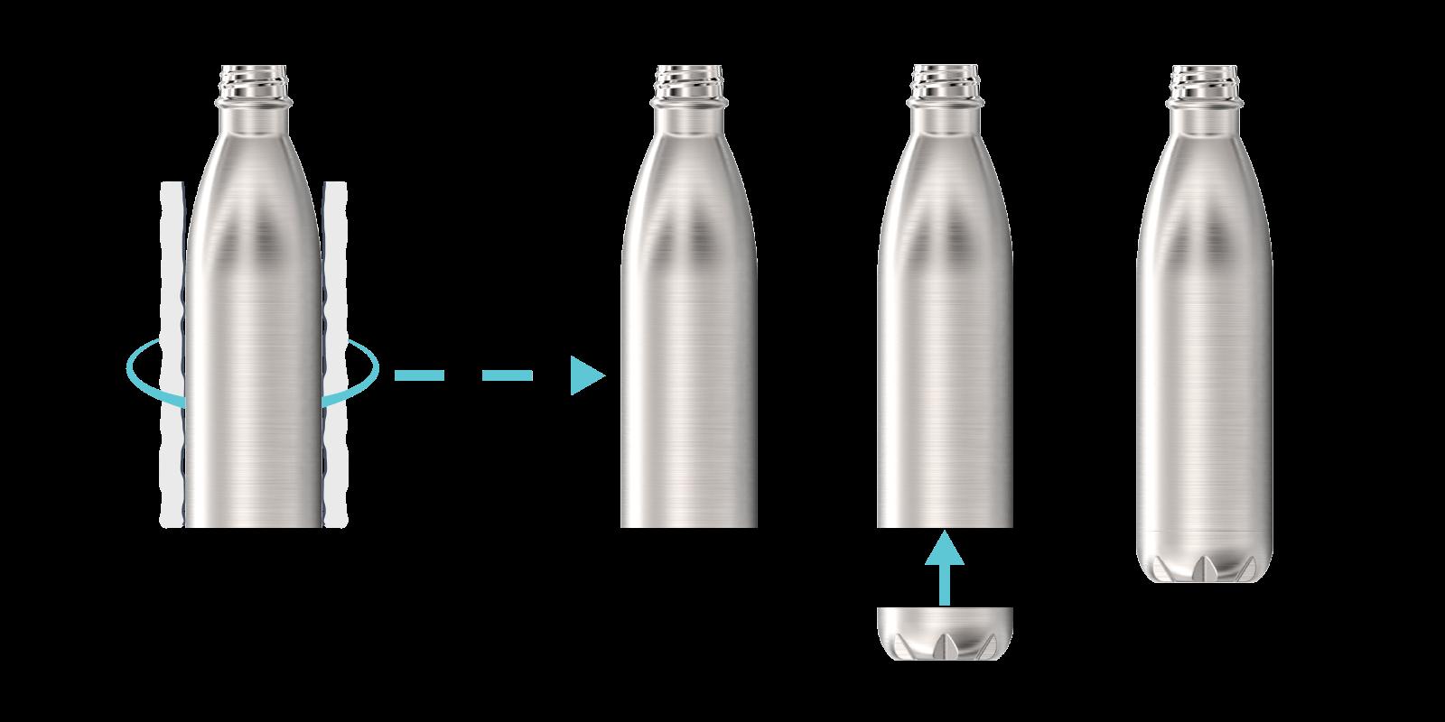 Come realizziamo le nostre Borracce in metallo - Step6